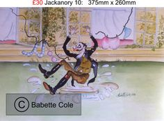 Jackanory Original Illustrations by Babette Cole
