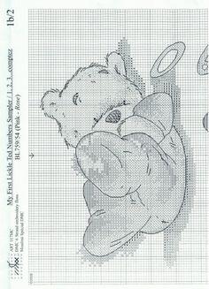LICKLE TED PUNTO EN CRUZ   Aprender manualidades es facilisimo.com