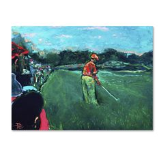 God's Game by Lowell S.V. Devin Painting Print on Wrapped Canvas