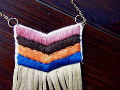 stitched necklace