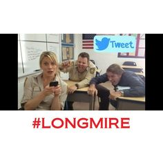 Katee, Adam & Rob getting schooled in the art of social media stampede! Twitter