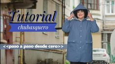 Tutorial chubasquero paso a paso desde cero Diy Clothes, Youtube, Dresses, Fashion, Big Sizes, Scrappy Quilts, Sewing Rooms, Raincoat, Step By Step