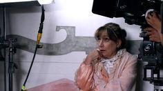 Intervista all'attrice Piera degli Esposti sul set del #film #Leoni - Ca' Marcello, Piombino Dese (PD)