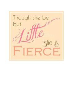 Baby Girl Nursery / Shakespeare Quote / 5x7 by HomeSweetDecor, $8.00