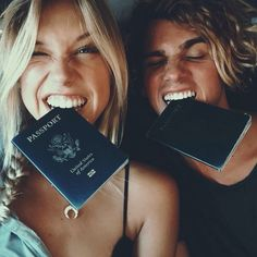 Fill up our passports ...