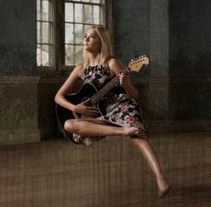 Music acts like a magic key, to which the most tightly closed heart opens. #modelling #music #guitar #levitation #gravity #mua #photography @akobam