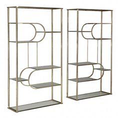 Glass Shelves For Shower Niche Info: 1918177226 Glass Shelves In Bathroom, Floating Glass Shelves, Bathroom Wall, Plant Shelves, Display Shelves, Metal Furniture, Cool Furniture, Steel Bookshelf, Bookcase