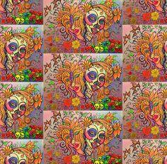 Persephone Butterfly Skull Goddess