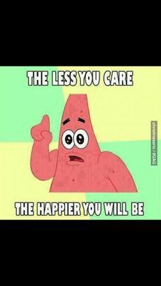 Less care