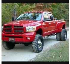 dodge ram 3500 - Dodge Ram 3500 Dually Lifted With Stacks