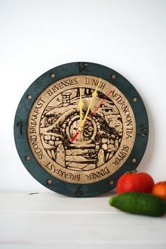 Hey, I found this really awesome Etsy listing at https://www.etsy.com/listing/247195996/hobbit-meal-times-lord-of-the-rings