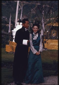 King Palden Thondup Namgyal and Queen Hope Cooke of Sikkim