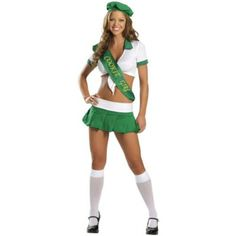 Cookie Girl Costume - Medium/Large - Dress Size 6-10 - Sexy Halloween Costumes