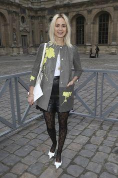 Elisabeth Von Thurn - Défilés de stars chez Louis Vuitton!    www.femina.ch/galeries/mon-style/defile-de-stars-chez-louis-vuitton