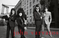 Kiss Dressed to Kill with Jon Varvatos in 2014