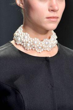 Bijoux, Bijoux: Spring 2014 Runway Jewelry. Blanc Slate