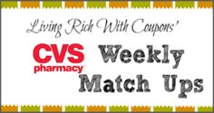 CVS Coupon Match Ups – Week of 2/23/14 - http://www.livingrichwithcoupons.com/2014/02/cvs-coupon-match-ups-week-22314.html