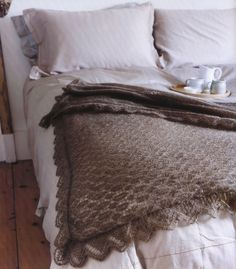 The beauty of having knitted for many years is that you have the skills to create gorgeous one-of-a-kind pieces that your friends and family won't find any