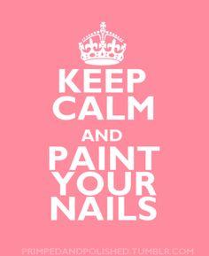 & Paint Your Nails...