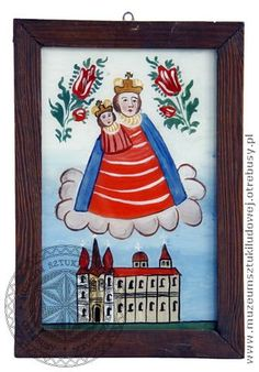 Muzeum Sztuki Ludowej w Otrębusach - malarstwo na szkle