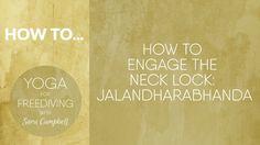 How to Engage Neck Lock : Jalandharabhanda