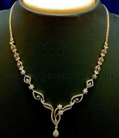 Jewellery Designs: Diamond Sets Starts with 1 Lakh