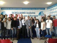 #Insieme ai ragazzi dell'Associazione Universitaria Orizzonte Italia! #laviaxleuropa