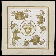 Hermès Ex Libris carré de soie