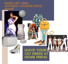 """""""Don't Be Disco Dumb!!"""" by j-r-h ❤ liked on Polyvore"""