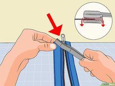 Sliders, Diy, Zipper, Pattern Sewing, Good Ideas, Crafts, Sewing Techniques, Sewing Patterns, Zipper Repair
