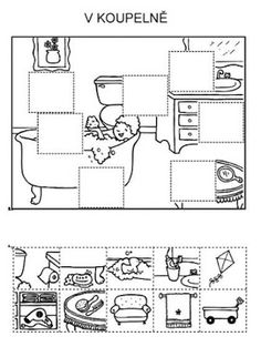 Z internetu – Sisa Stipa – Picasa Web Albums - Bildung Hidden Pictures, Cut And Paste, Thinking Skills, Preschool Worksheets, Speech And Language, Teaching English, Pre School, Life Skills, Special Education