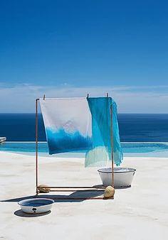 Bleu indigo | Tie and Dye | Maternité | Bébé | Été | Soleil | Vacances | Plage | Mer | Maman | Seraphine |