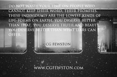 --- come join the GLOBAL EXPERIENCE & 44,599+ other strong followers today at www.CGFEWSTON.me