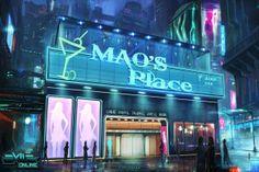 Mao's Place nightclub concept image