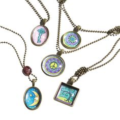 Melissa & Doug Jewelry Made Easy Press A Pendant Necklaces (#9471)