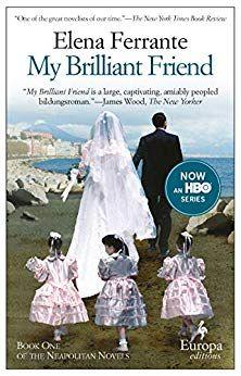 Title: My Brilliant Friend (Neapolitan Novels Series Author: Elena Ferrante Best Books To Read, Good Books, Elena Ferrante, Feminist Books, Female Friendship, Friend Book, Summer Reading Lists, Literary Fiction, Entertainment