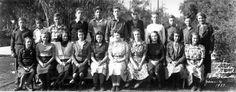 Title:  8th grade, Yorba Linda Grammar School, Jan. 1939.  Date:  1939 January 4 Yorba Linda, Grammar School, Class Pictures, January 4