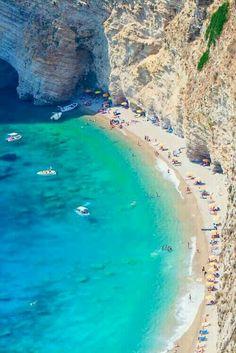 Chomi beach, Corfu, Greece
