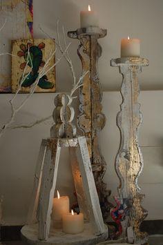 lanterna e candelabri