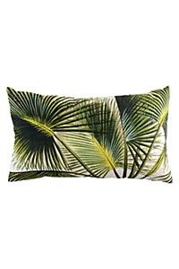 PALM LEAF 30X50CM SCATTER CUSHION