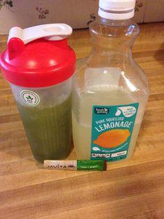 HalfHalf - lemonade  Javita green tea