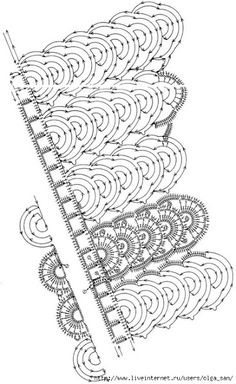 crochelinhasagulhas: Gola de crochê III