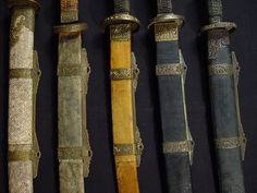Qing Dynasty Broadswords (125-200 years old)