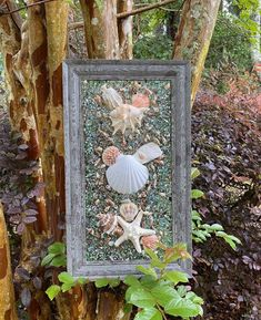 "11""x 19"" Beach Glass Wall and/or Window Art/Seashell Art/Resin Art/Unique Coastal Decor/Sun Catcher/Beach House Decor/Great Christmas Gift  Handmade in South Carolina with high quality materials (seashells, crushed shells, crushed glass, knobby starfish, sand pebbles) and secured with care. The Nautical Wall Art, Coastal Wall Art, Coastal Decor, Seashells, Starfish, Crushed Glass, Seashell Art, Sea Glass Art, Window Art"