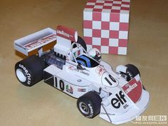 F1 Paper Model - 1975 GP Spain March 751 Paper Car Free Template Download…