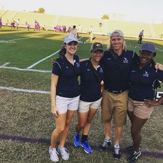 These UNF Athletic Training students are enjoying the Friday Night Lights and getting real world experience at Fletcher High Homecoming! #Swoop #TLO
