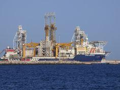 Puerto de Las Palmas.Spotter.Aeropuerto Gran Canaria     : Stena Drillmax Buque de Perforación en el Puerto d...