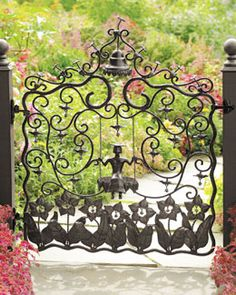 H707H MacKenzie-Childs Mrs. Powers Garden Gate