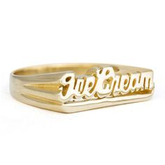 Ice Cream Ring: http://shop.nylonmag.com/collections/whats-new/products/ice-cream-ring #NYLONshop