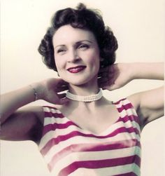 Betty White, c.1950's.- ❤her!